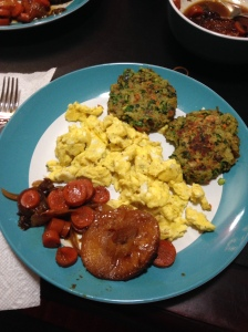 Eggs with Potato Pancakes