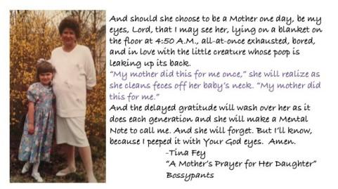 Mother's Prayer Excerpt