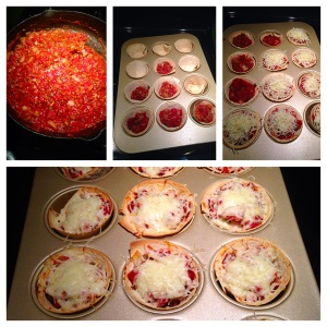 Mini Vegetarian Pizzas