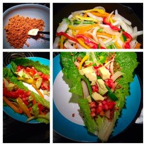 Vegan Green Taco Wraps