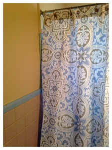 Tile and Curtain