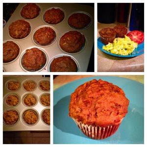 Vegan Morning Glory Muffins